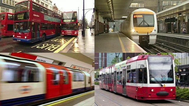 openbaar vervoer UK