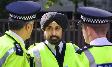 sikh politie agent
