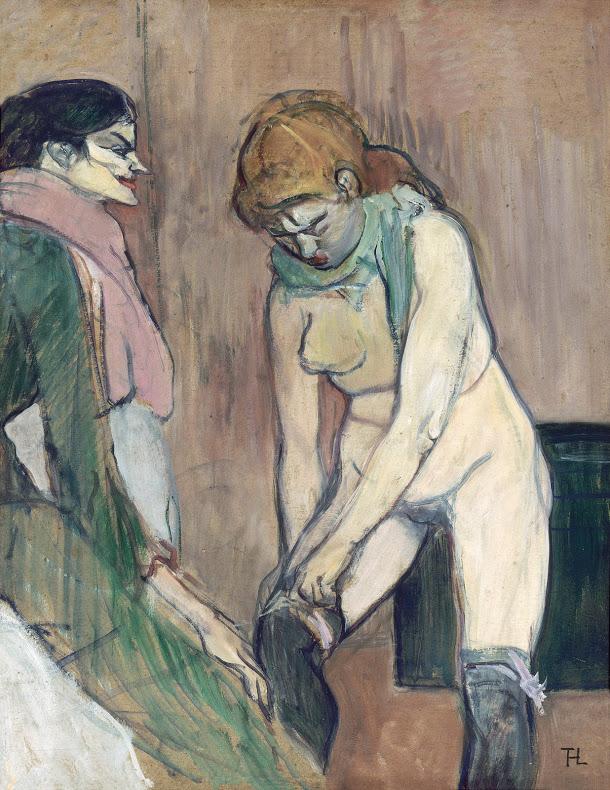 toulouse-lautrec-vrouw-die-haar-kousen-optrekt-1894