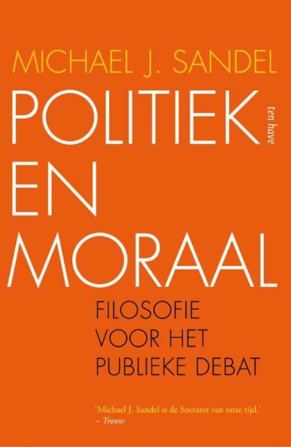 sandel politiek en moraal