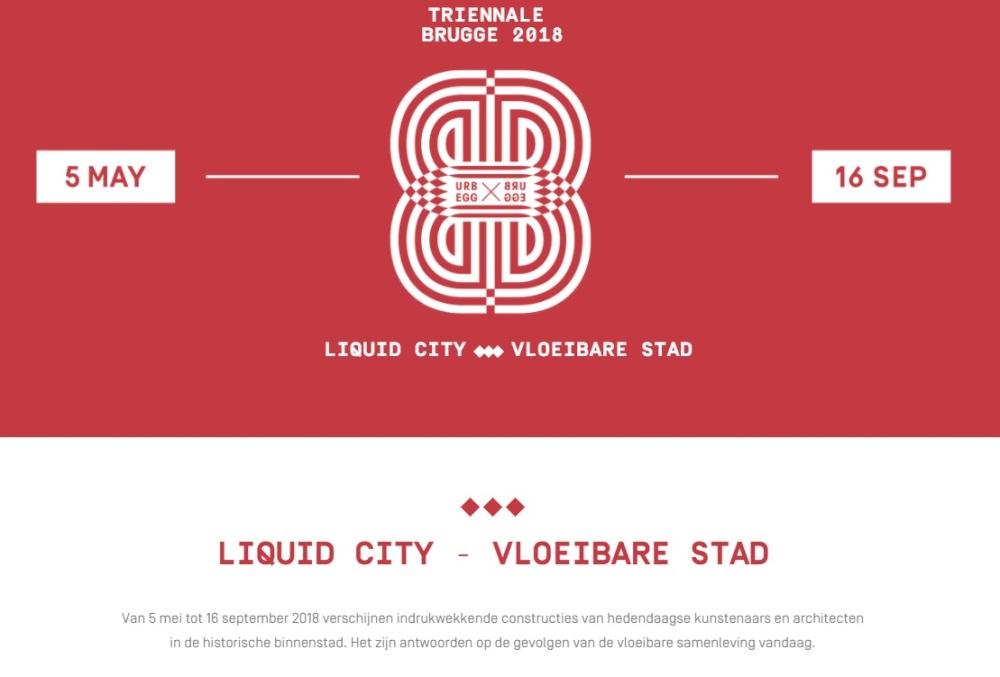triennale brugge - liquid city